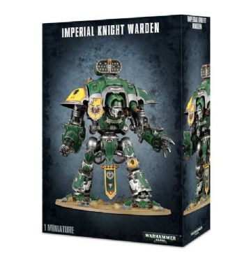 Games Workshop Warhammer 40K Imperial Knight Warden 54-12